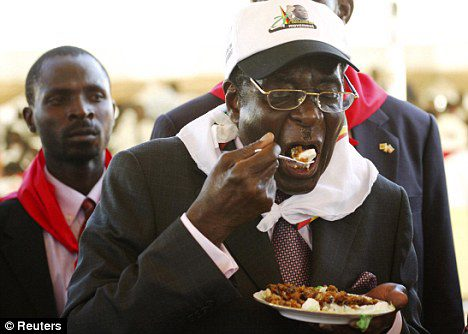 Health promotion & Mugabe. For real.