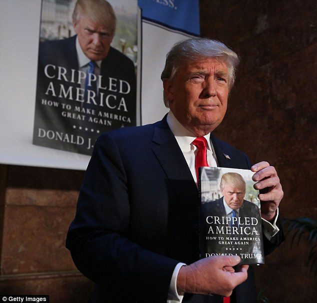 Donald Trump is trying to refute my new book before it's even come out.