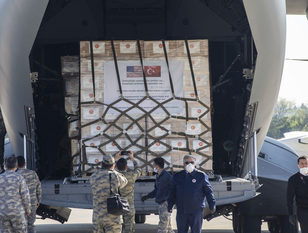 Why are Egypt&Turkey sending medical equipment to the US? International Status and lazy explanations in IR