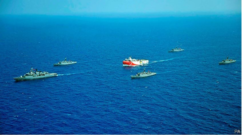 Will Eastern Mediterranean tensions matter to IR if there is no war?